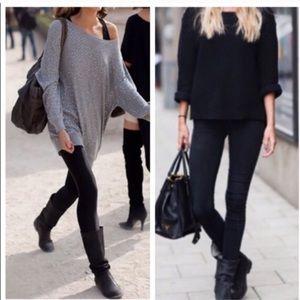 Laundry By Shelli Segal Pants - Black Fleece Lined Leggings!